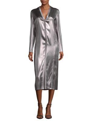 LK28 Silk Midi Dress