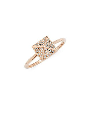 Click here for Pyramid Diamond Solitaire Ring prices