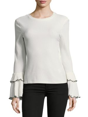 Modest Bell Sleeve Top ENGLISH FACTORY