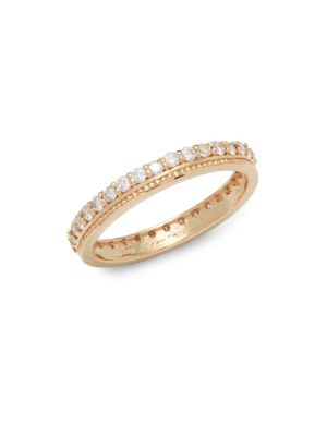 Diamond  14K Yellow Gold Stack Ring KC Designs