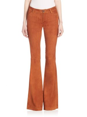 Mid-Rise Flared Jeans Alice   Olivia