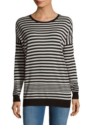 Oversize Stripe Pullover