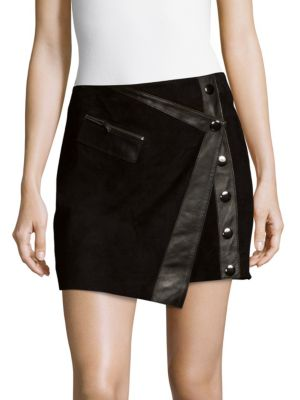 Lauren Leather Skirt Parker