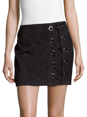 Monica Lace Up Skirt Parker