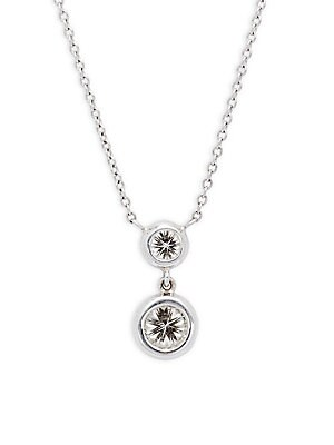 Click here for Classic Diamond & 14K White Gold Necklace prices