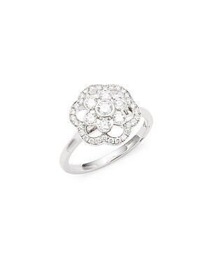 Click here for Oasis Diamond & 18K White Gold Ring prices