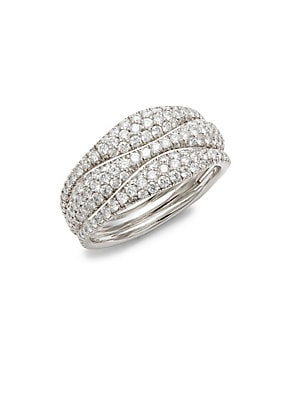 Click here for Moonlight Diamond & 18K White Gold Ring prices