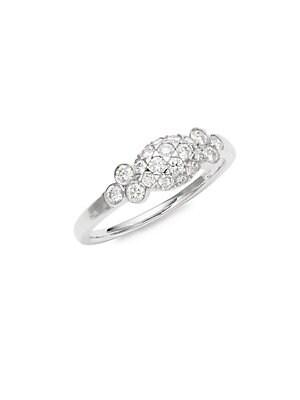 Moonrise Diamond & 18K White Gold Ring