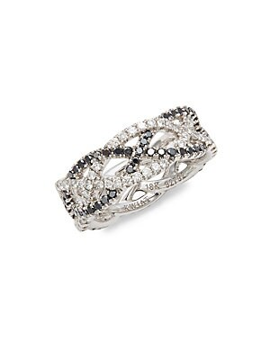 Click here for Twist Diamond & 18K White Gold Wedding Ring prices
