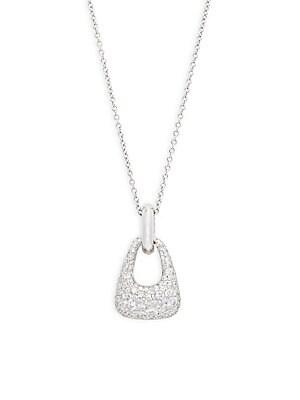 Click here for Madison Avenue Diamond & 18K White Gold Pendant Ne... prices