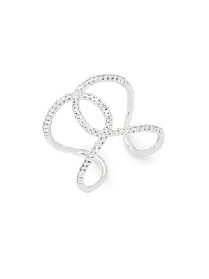 Click here for Diamond & 14K White Gold Mid Ring prices