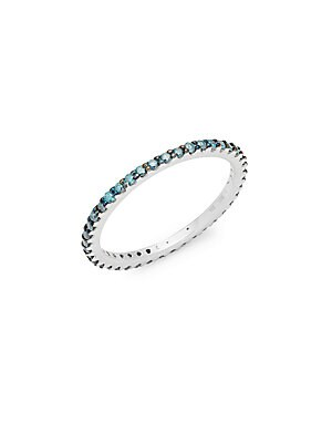 Click here for Blue Diamond & 14K White Gold Ring prices