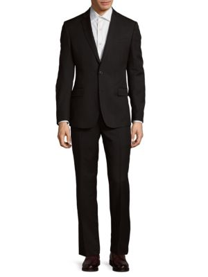 Two-Button Wool Suit Brunello Cucinelli