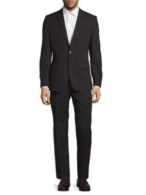 Wool Pinstripe Suit Brunello Cucinelli