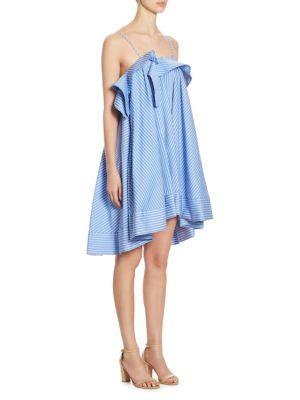 REGIMENTAL POPLIN COTTON DRESS