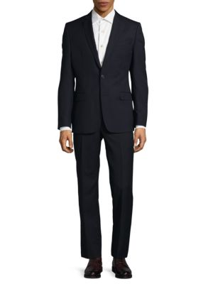 Classic Wool Suit Versace Collection