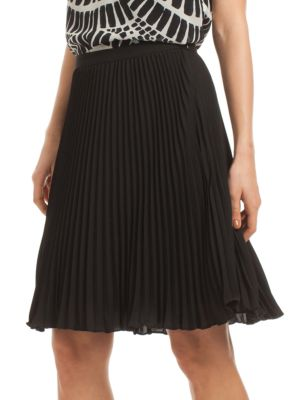 Lois Fully Pleated Skirt Trina Turk