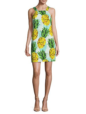 Pineapple Sheath Dress