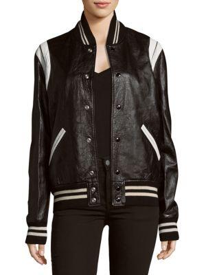 Two-Tone Snap Jacket Givenchy
