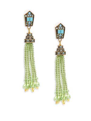 Crystal Tassel Earrings Heidi Daus