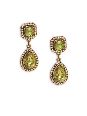 Crystal Dangle  Drop Earrings Heidi Daus