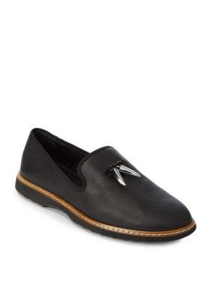Slip-On Leather Loafers Giuseppe Zanotti
