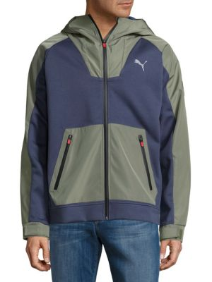 Long Sleeve Hooded Jacket PUMA