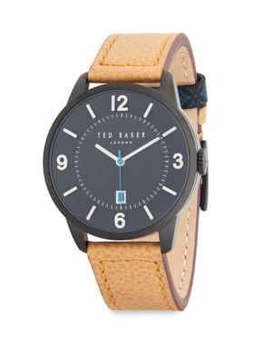 Stainless Steel Strap Watch Ted Baker London