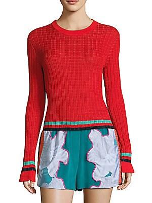 Smocked Pullover
