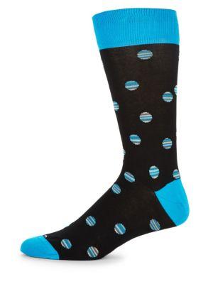 Multicolored Intarsia Socks Bugatchi