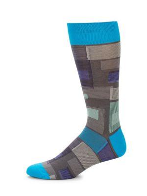 Multi-Colored Socks Bugatchi