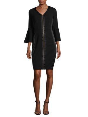 Bell Sleeve Bodycon Dress JAX