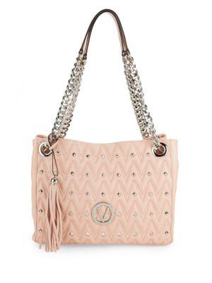 Luisa Studded Chain Shoulder Bag