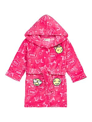 Girls Emoji Robe