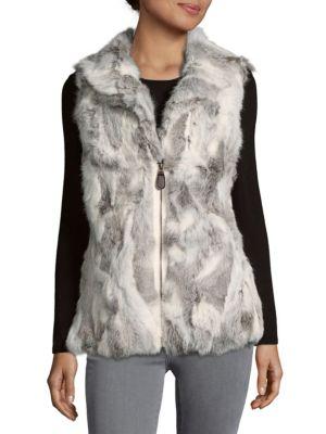 Textured Vest with Fur La Fiorentina