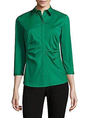 Leigh Ruched Blouse