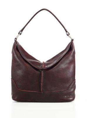 Cara Leather Hobo Bag Frye