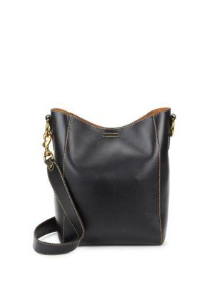 Harness Leather Bucket Bag Frye