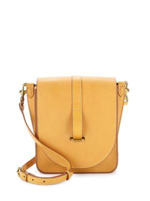 Ilana Leather Crossbody Bag Frye