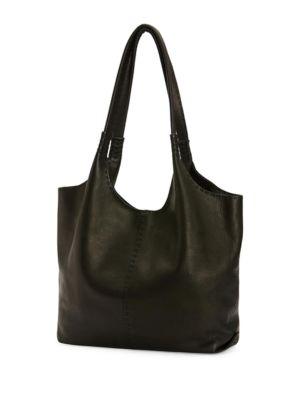 Naomi Pickstitch Leather Hobo Bag Frye