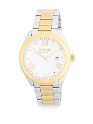 Two-Tone Stainless Steel Bracelet Watch Versus Versace