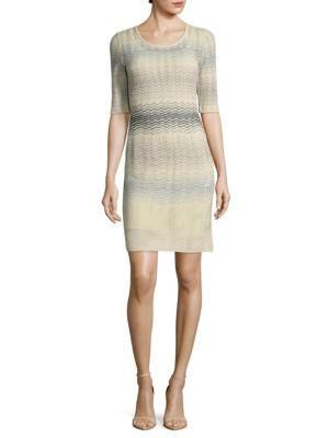 Knitted Sheath Dress M Missoni