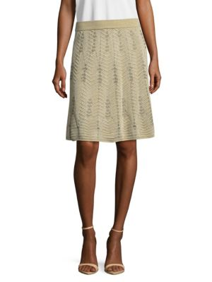 Leaf Pattern Skirt M Missoni