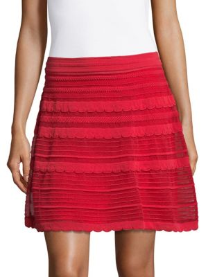 Scallop Design Skirt M Missoni