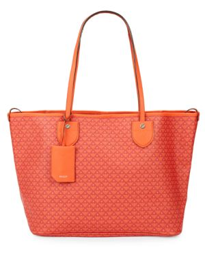 Leather Tote Bag Bally