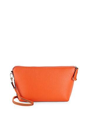 Zip Leather Handbag