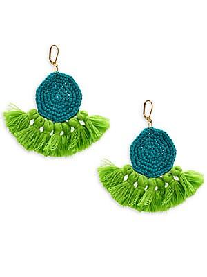 Crochet Tassel Earrings