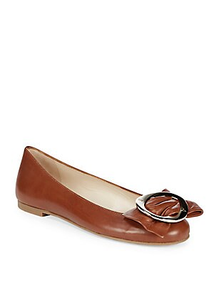Chic Leather Ballet Flats