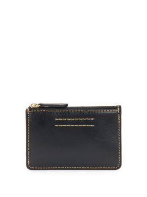 Harness Leather ID Card Holder Frye