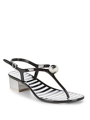 Striped Sandals